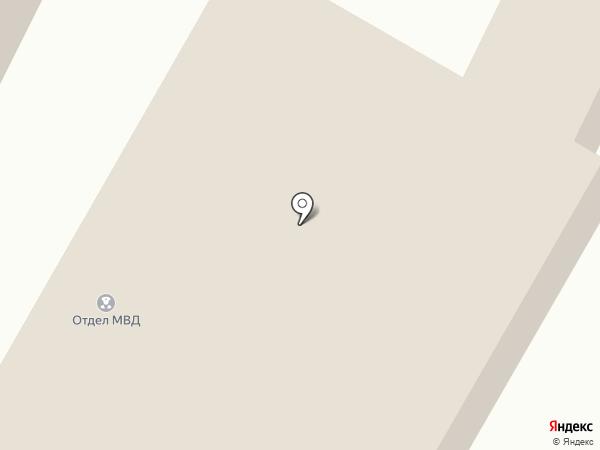 Отдел МВД России по Минераловодскому району на карте Минеральных Вод