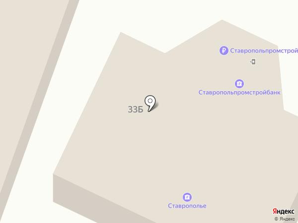 Ставропольпромстройбанк на карте Минеральных Вод