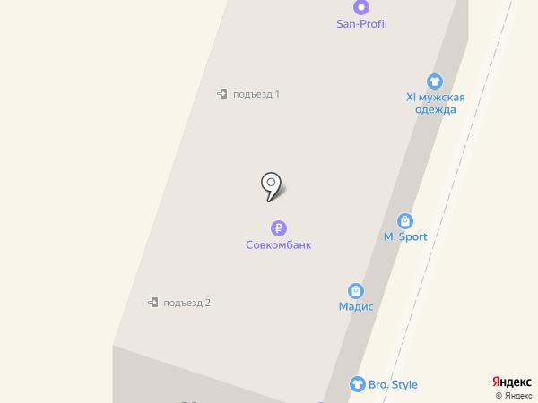 Магазин нижнего белья на карте Минеральных Вод