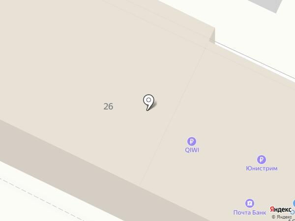 Почтовое отделение №3 на карте Минеральных Вод