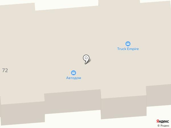 Трак Эмпайр на карте Пыры