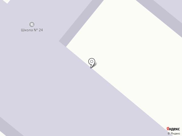 Средняя общеобразовательная школа №24 на карте Александрийской