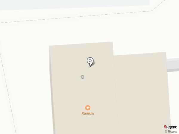 Халяль-кафе на карте Пыры