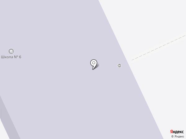 Основная общеобразовательная школа №6 на карте Пыры