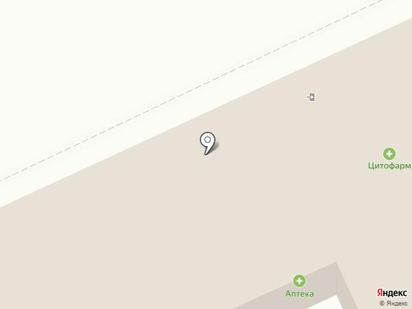 Городская больница №1 г. Дзержинска на карте Пыры