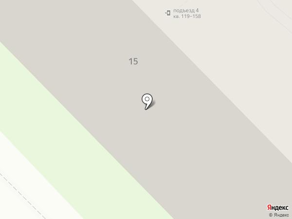 ТОС на карте Дзержинска