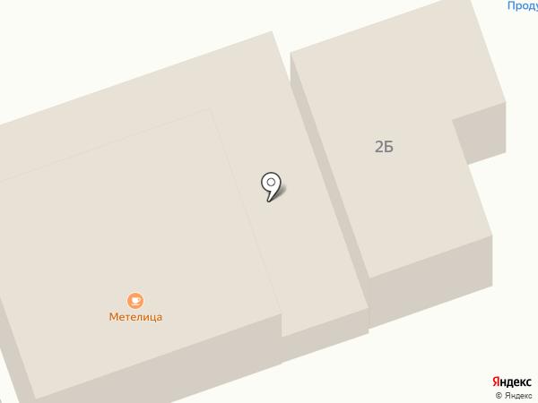 Метелица на карте Незлобной