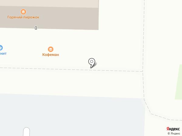 Шаурmen на карте Дзержинска