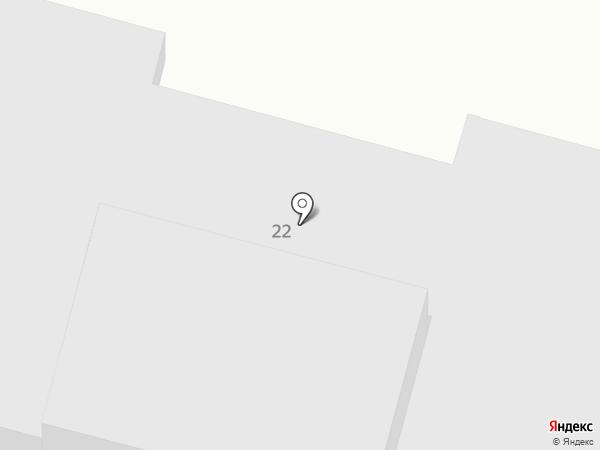 Новинское на карте Незлобной