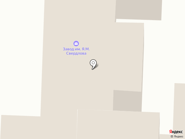 Завод им. Я.М. Свердлова на карте Дзержинска
