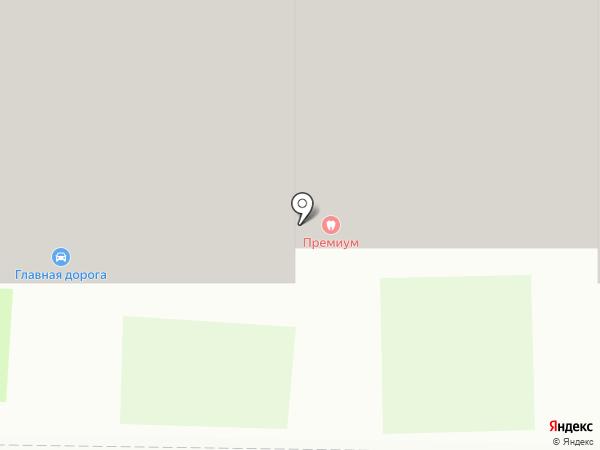 Дента на карте Дзержинска