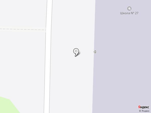Средняя школа №27 на карте Дзержинска