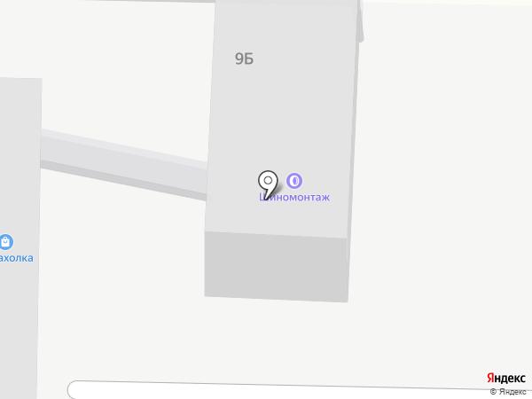 Глобус на карте Дзержинска