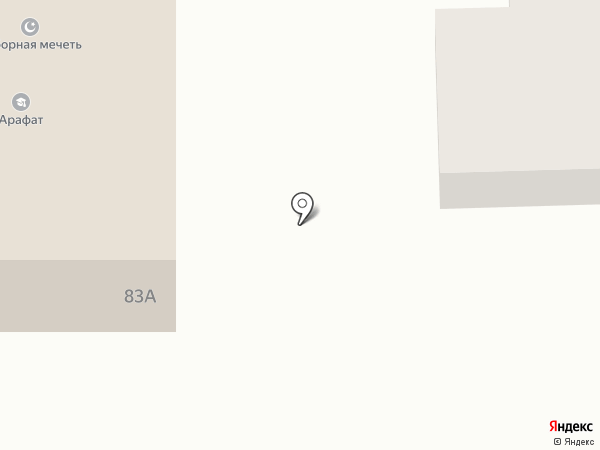 Арафат на карте Дзержинска