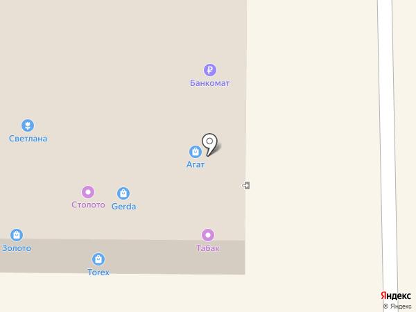 Сапфир на карте Дзержинска