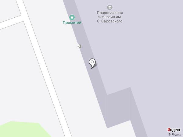 Средняя школа №37 на карте Дзержинска