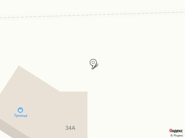 Троица на карте Дзержинска