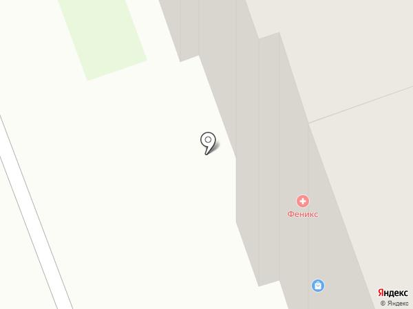 С иголочки на карте Дзержинска