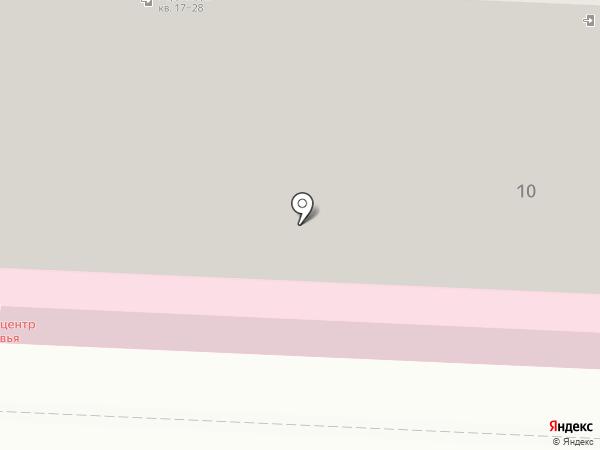 Детский центр здоровья на карте Дзержинска