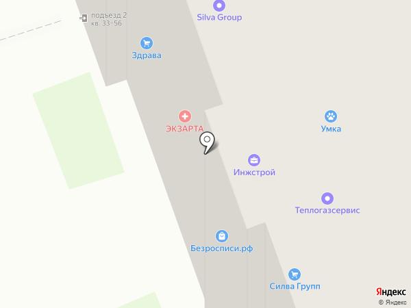 Строймонтаж-Проект на карте Дзержинска