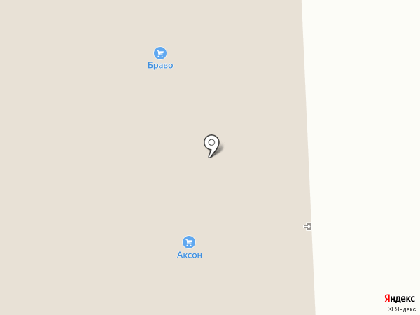 Самобранка на карте Дзержинска