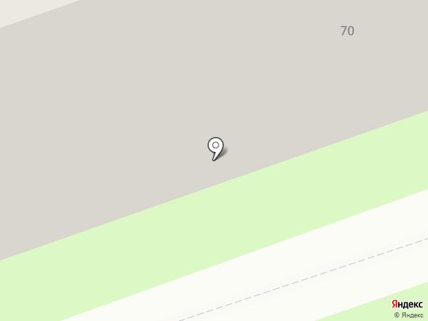 Нотариус Великанова Е.А. на карте Дзержинска