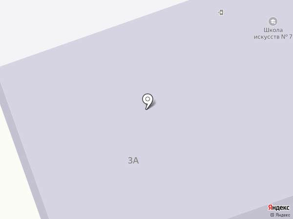 Детская школа искусств №7 на карте Дзержинска
