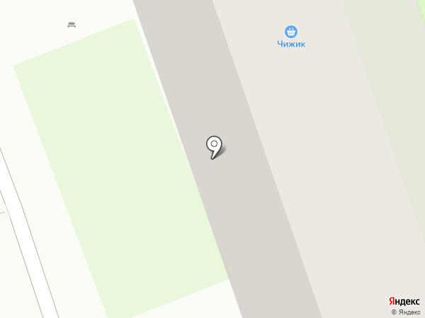 Бегемотик на карте Дзержинска