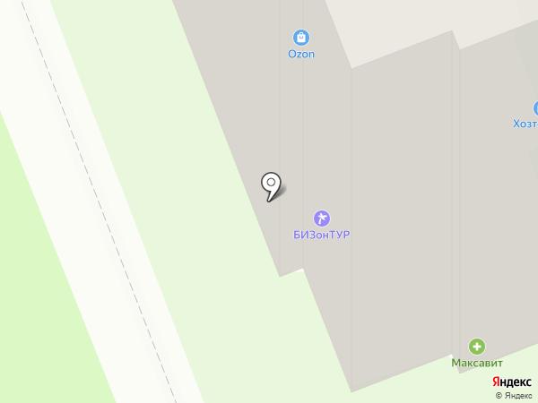 Умелец на карте Дзержинска