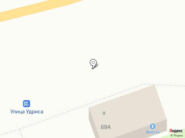 Фиеста на карте Дзержинска