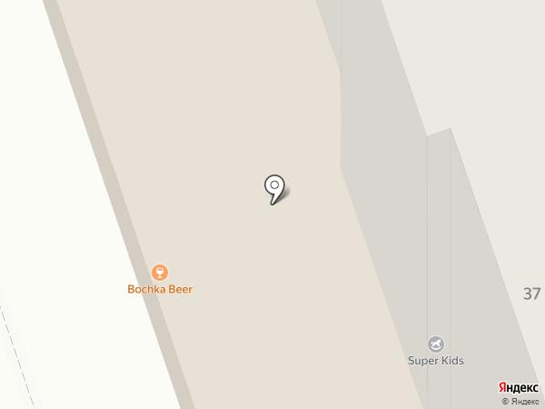 Росток на карте Дзержинска