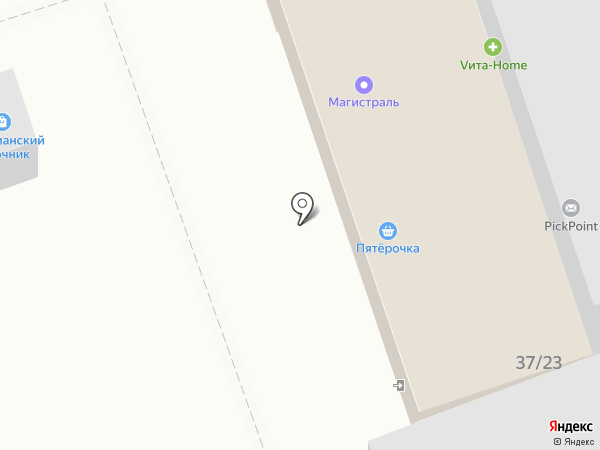 Погребок на карте Дзержинска