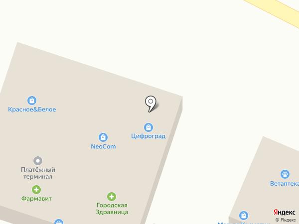 NEOCOM на карте Незлобной