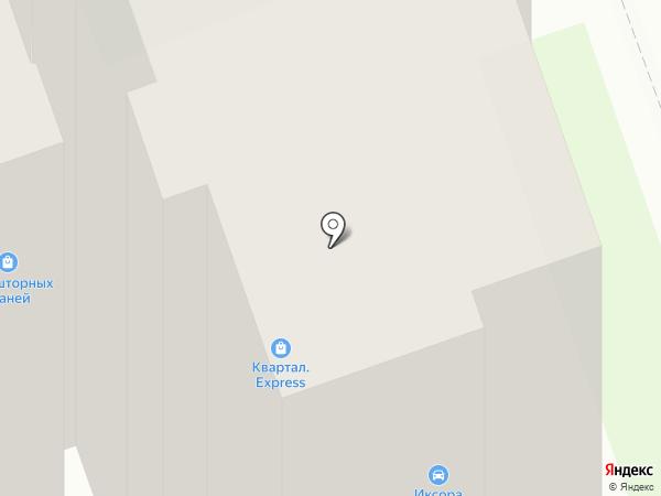 Квартал на карте Дзержинска