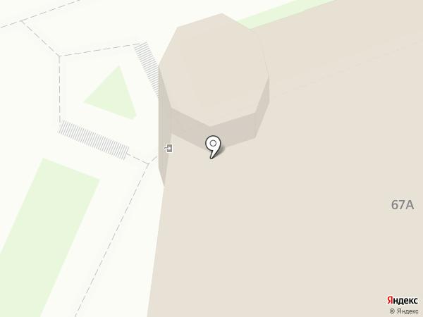 Центр занятости населения г. Дзержинска на карте Дзержинска