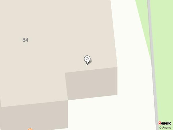 Ай-Петри на карте Дзержинска