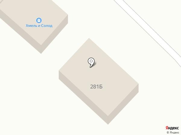 Мясной магазин на карте Незлобной