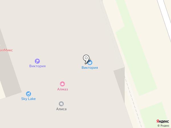 Алмаз на карте Дзержинска