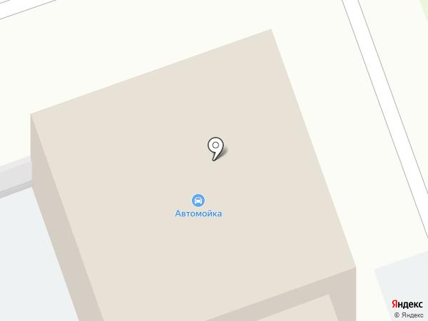 Автостоянка на карте Дзержинска