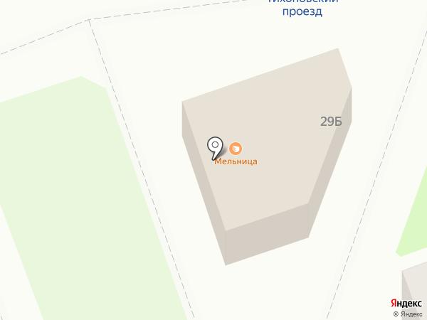 Катюша на карте Дзержинска