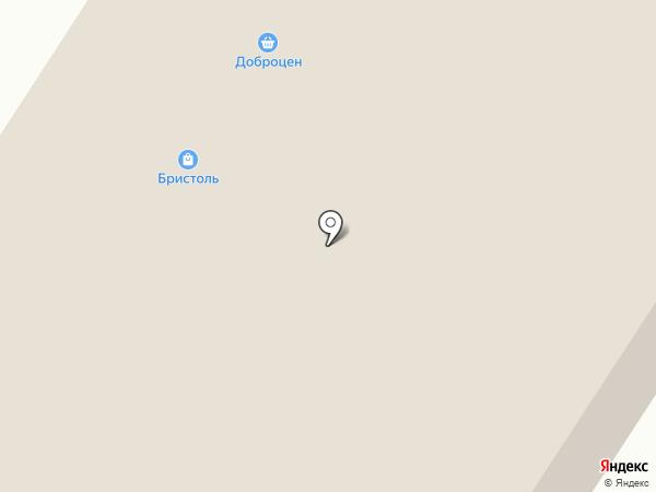 Народный на карте Дзержинска