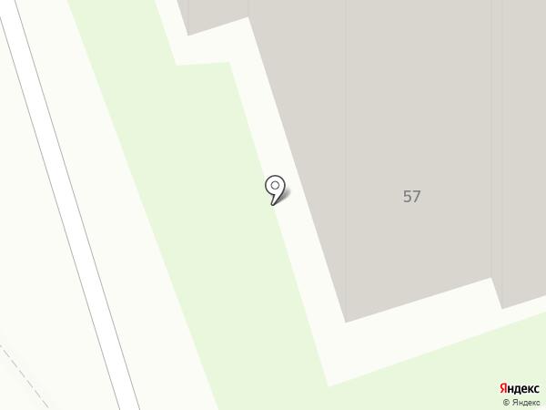 Рустоун на карте Дзержинска