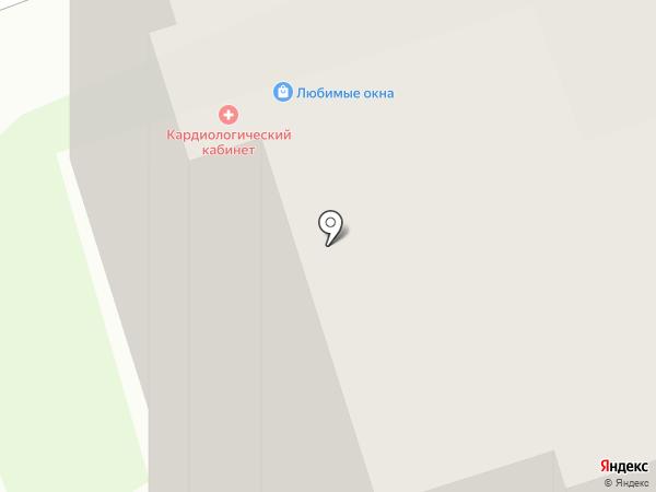 Кардиологический кабинет на карте Дзержинска