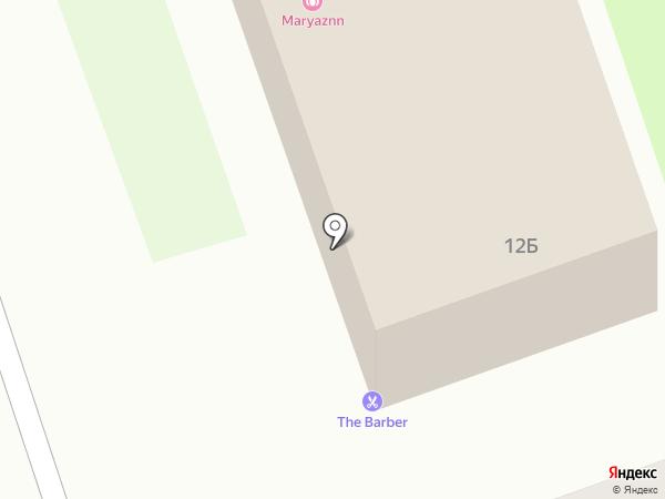 Злата на карте Дзержинска