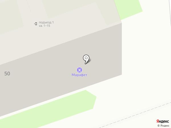 Мак на карте Дзержинска