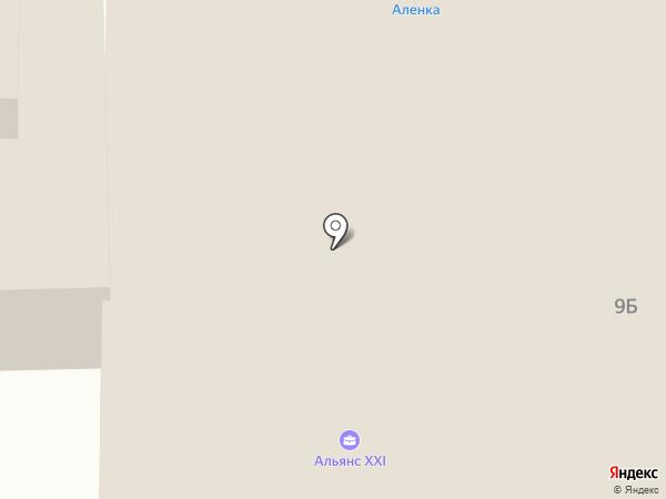 Алёнка на карте Дзержинска