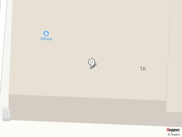 Обзор на карте Дзержинска