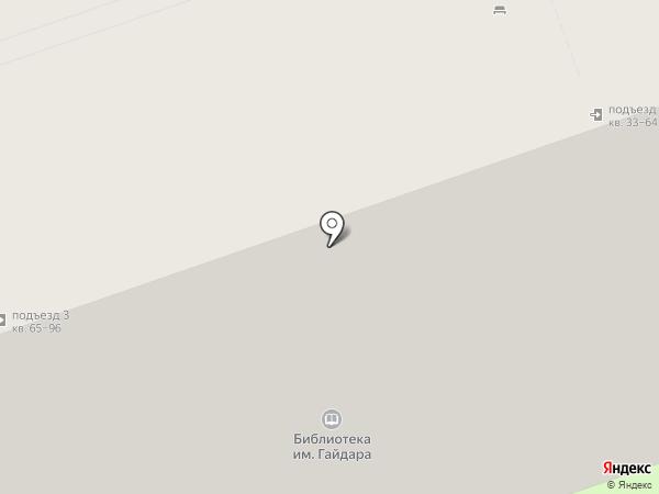 Центральная детская библиотека им. А.П. Гайдара на карте Дзержинска