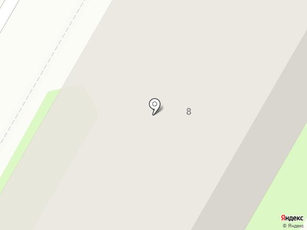 СДЮШОР по настольному теннису на карте Дзержинска