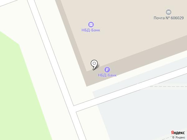 НБД-Банк, ПАО на карте Дзержинска